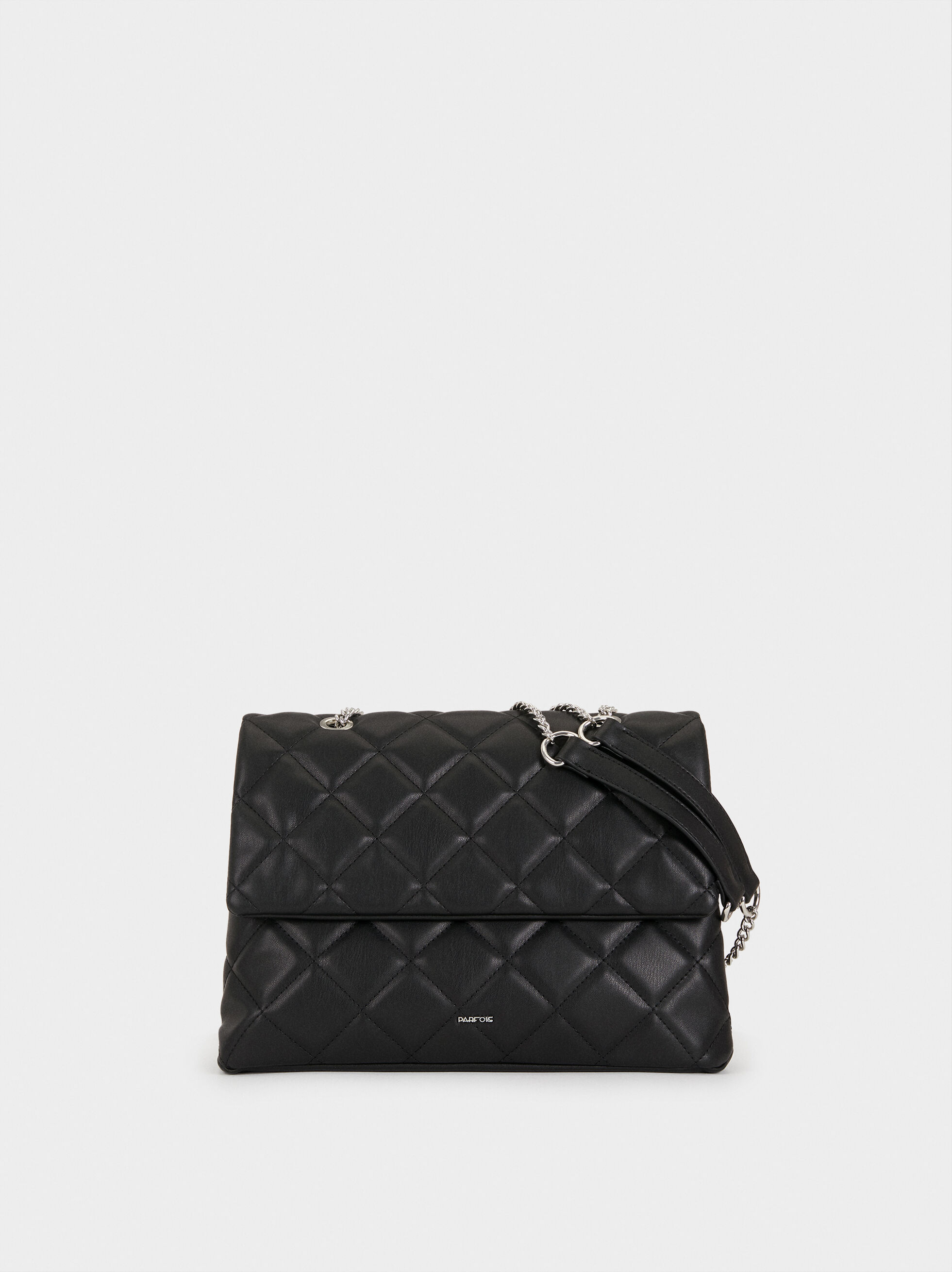 Quilted-Effect Crossbody Bag, , hi-res