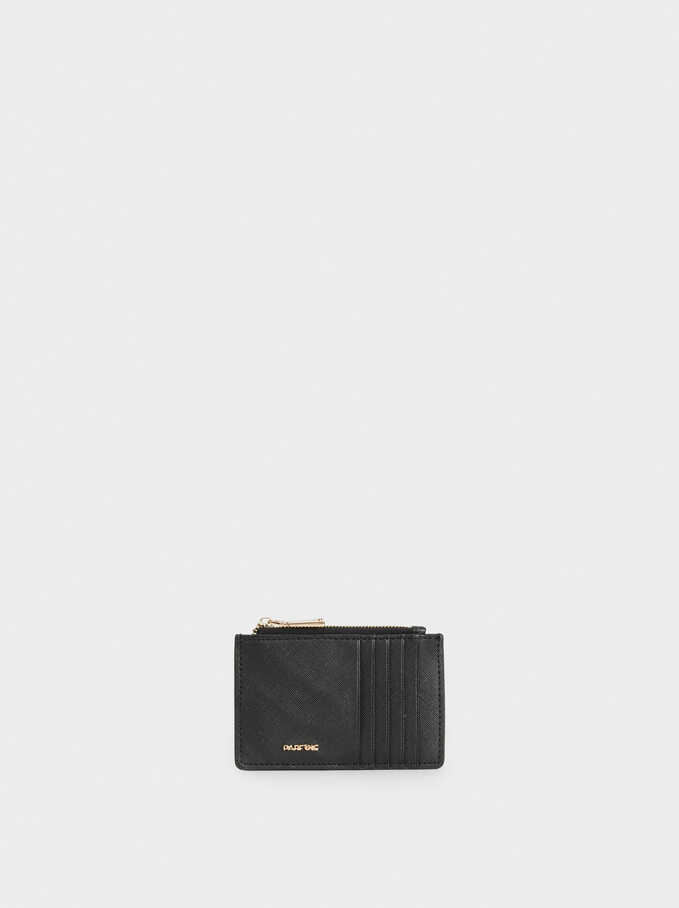 Basic Cardholder, Black, hi-res