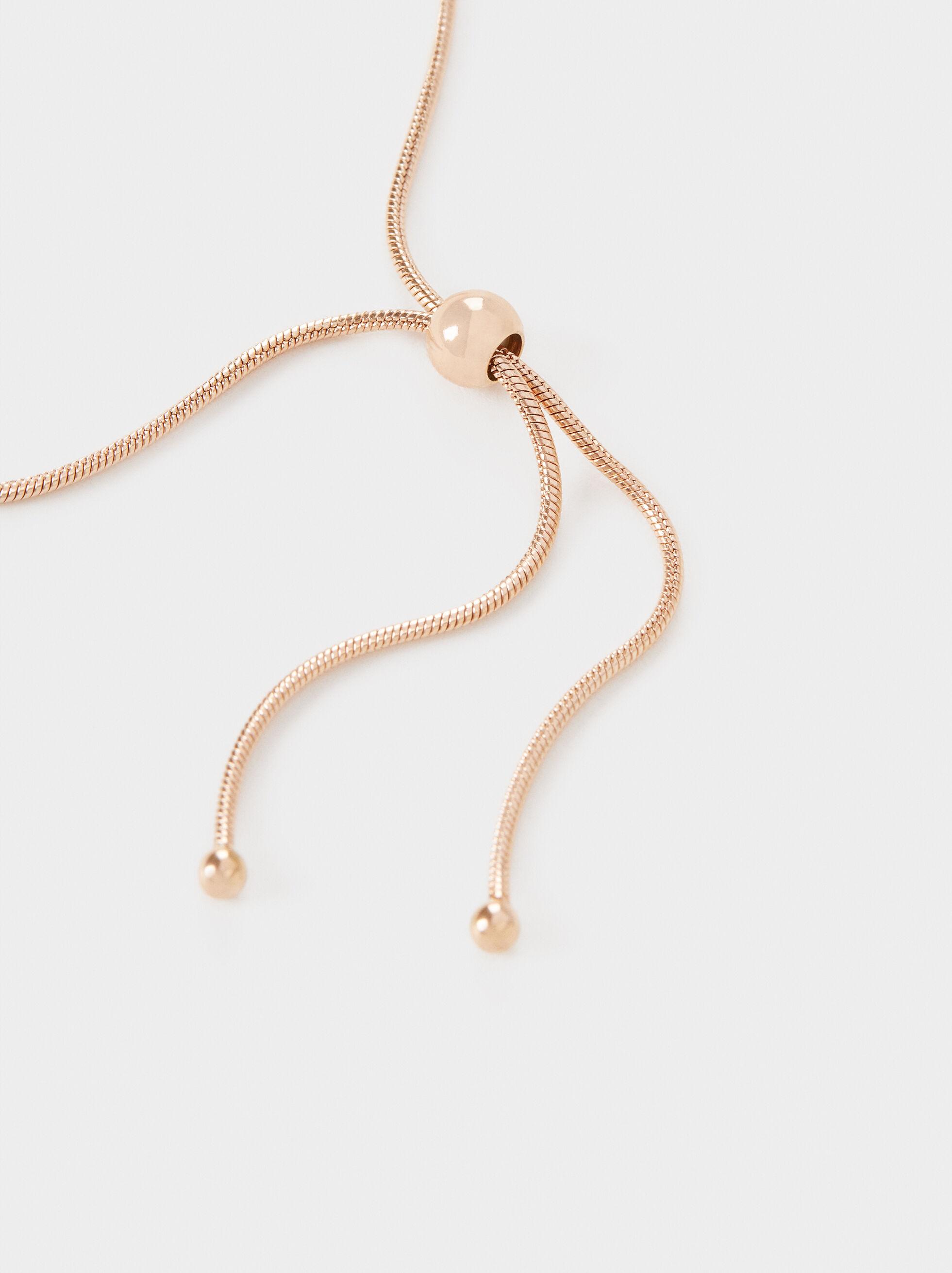Adjustable Steel Bracelet With Star, Multicolor, hi-res