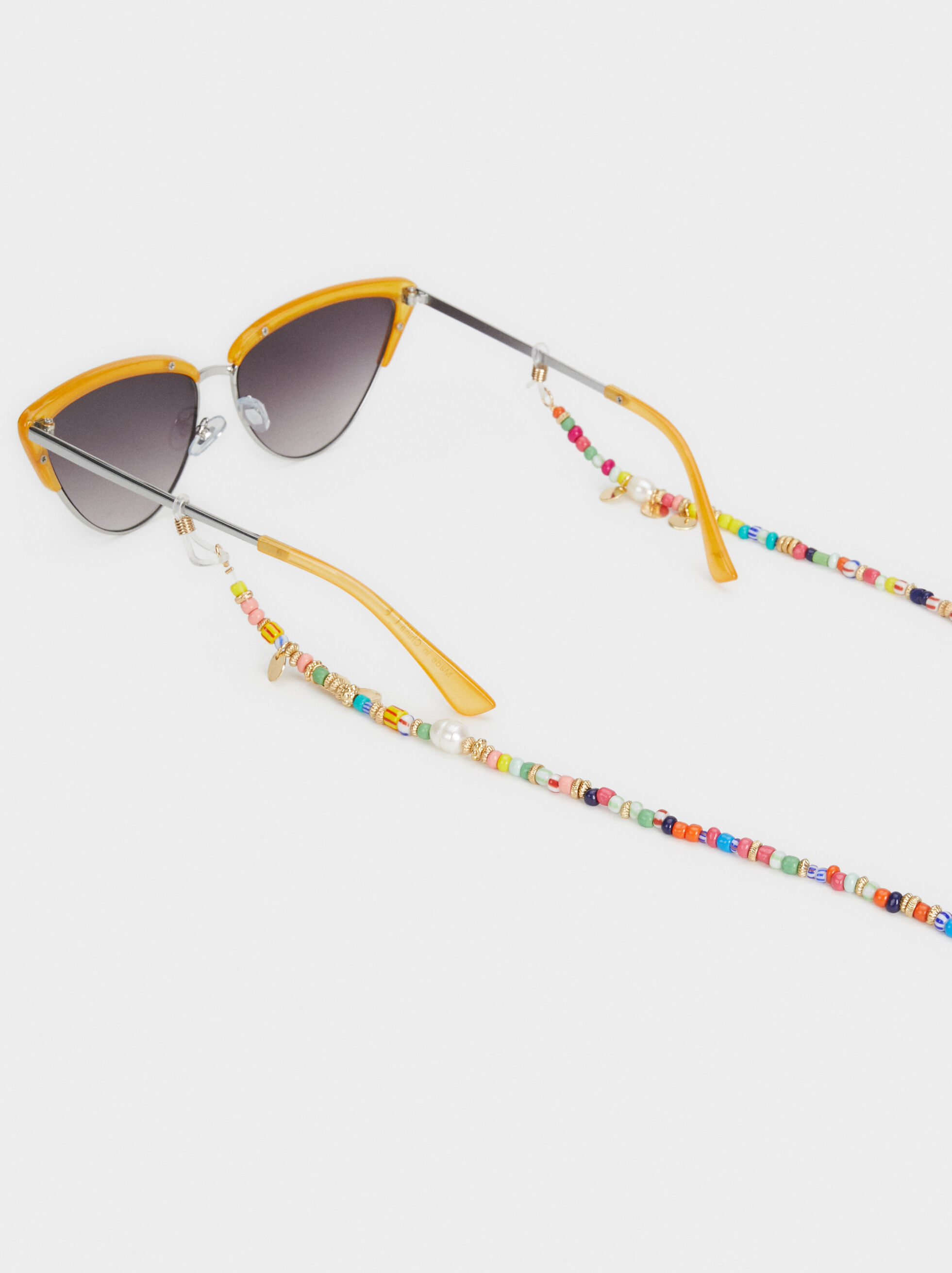 Beaded Glasses Cord, Multicolor, hi-res