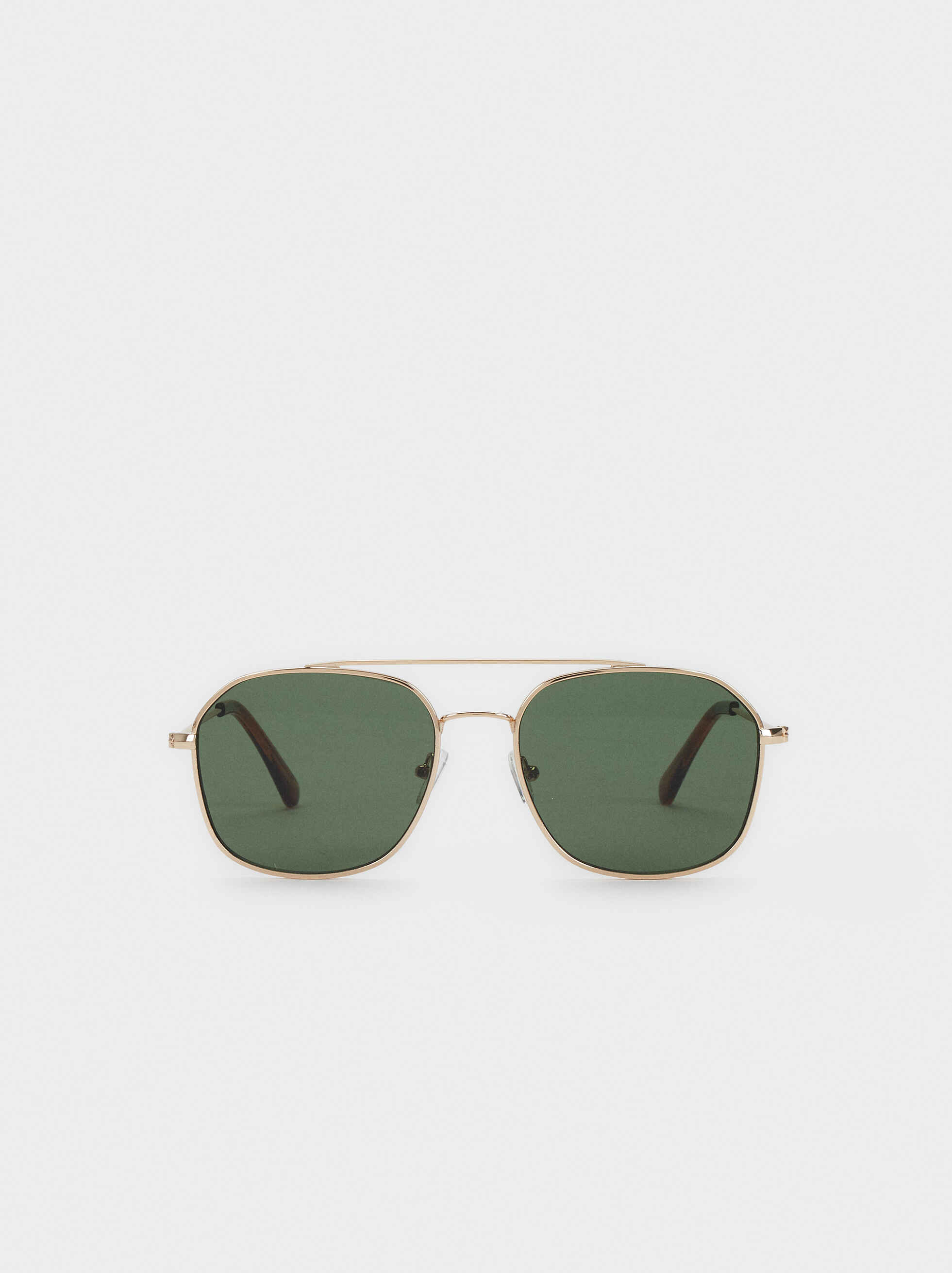 Aviator Sunglasses, Golden, hi-res