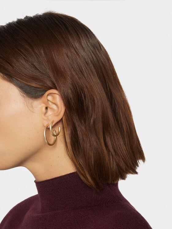 Set Of Basic Hoop Earrings, , hi-res