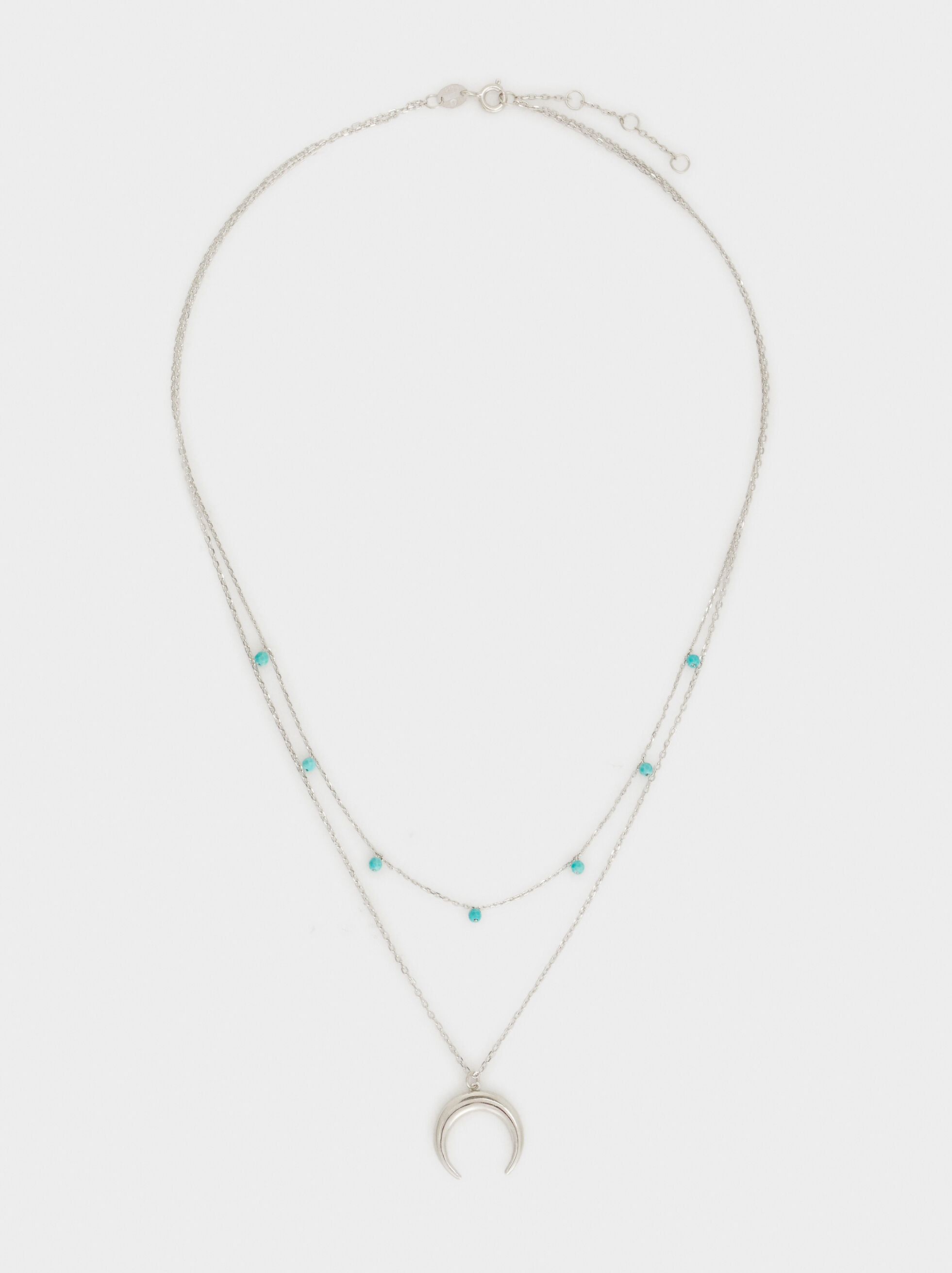Here And Now Necklace, Beige, hi-res
