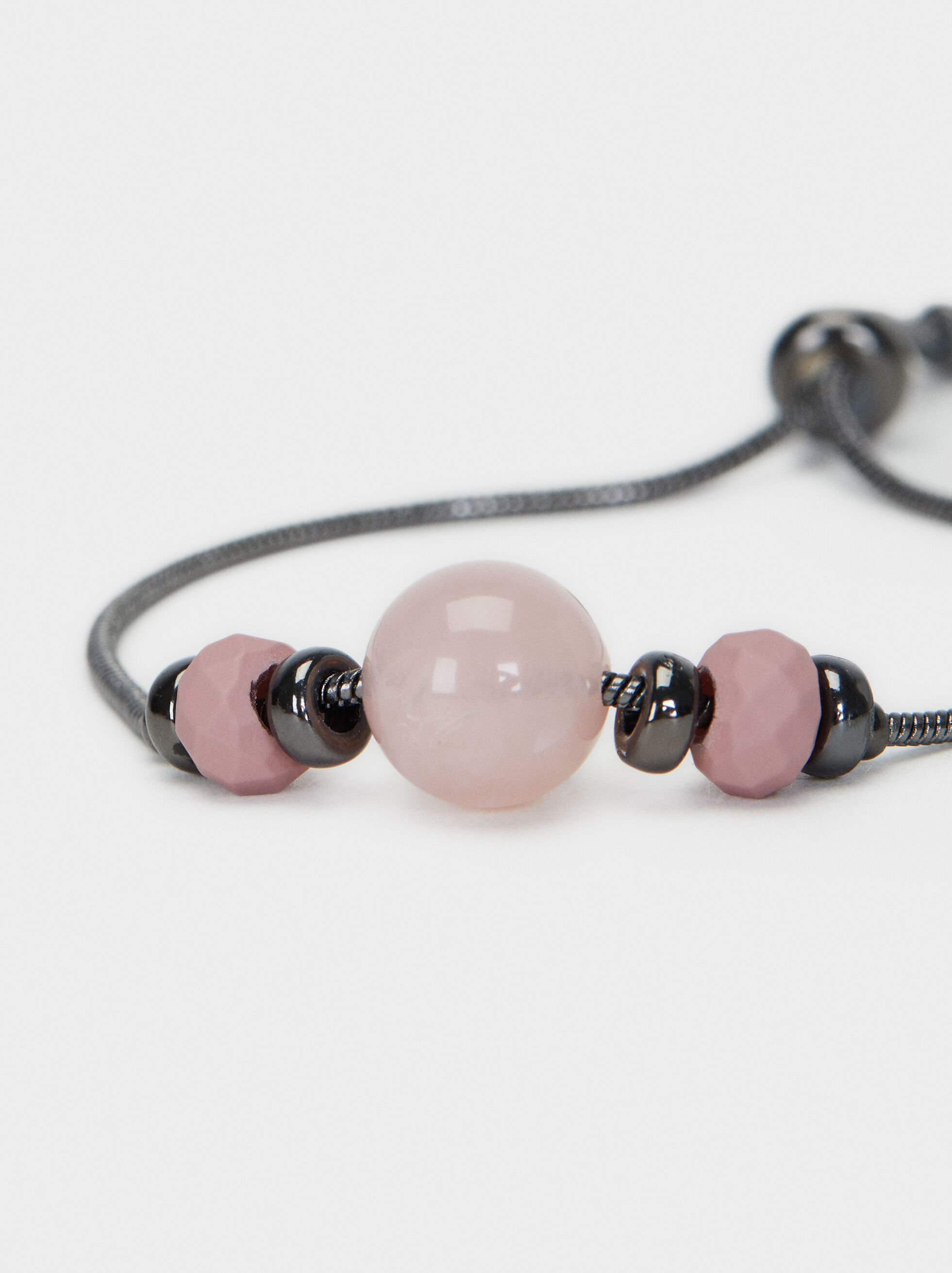 Pulsera Ajustable Cosmic Pink Esfera , Multicor, hi-res