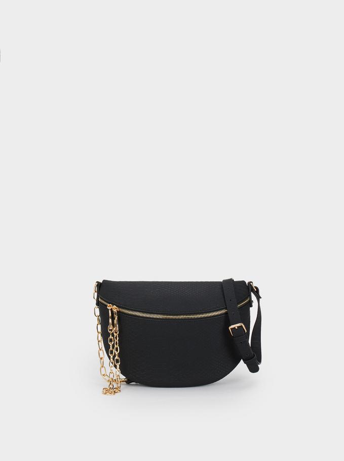 All In Cross Belt Bag, Black, hi-res