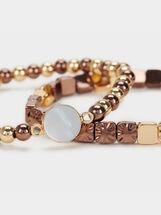 Blog Elastic Bracelet Set, Multicolor, hi-res