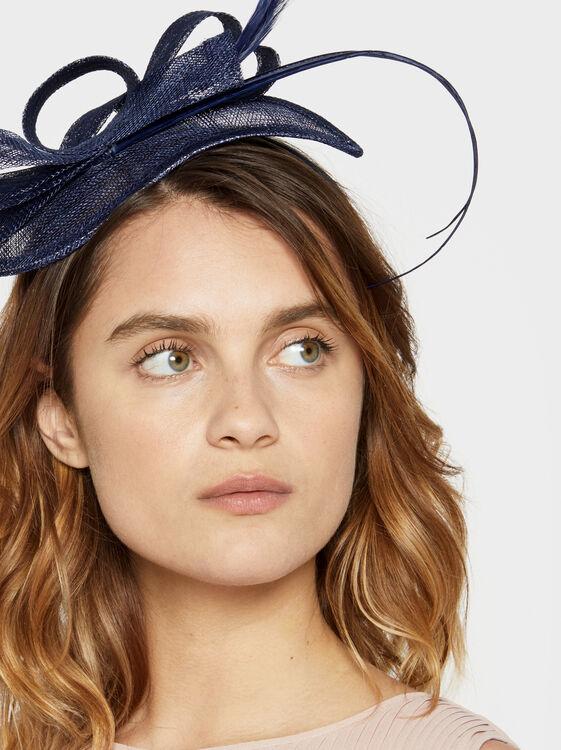 Blog Headband, Navy, hi-res