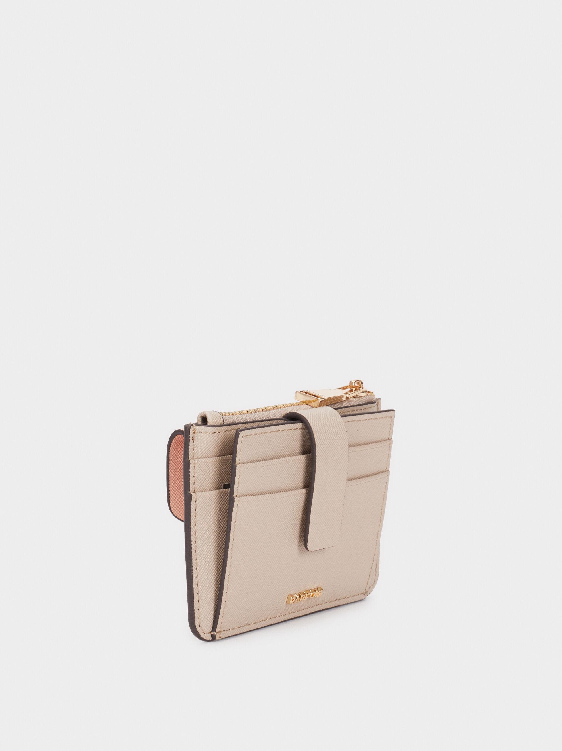 Multi-Colour Card Holder, Pink, hi-res