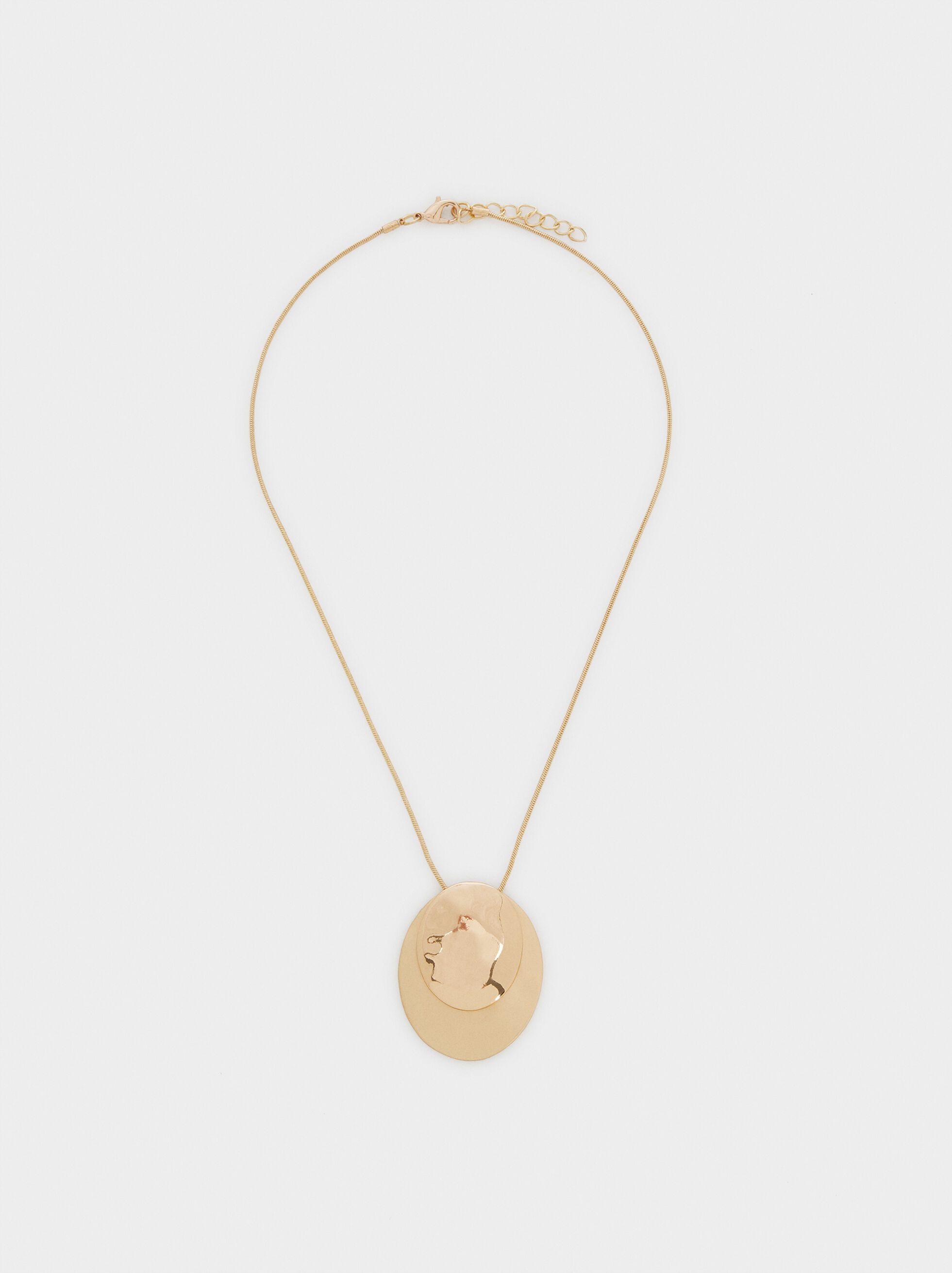 Necklace With Gold Pendant, , hi-res
