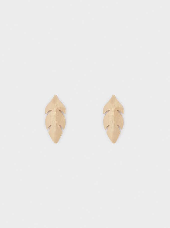 Leaf Earrings, , hi-res