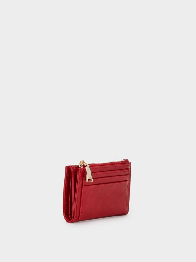 Red Wallet, Red, hi-res