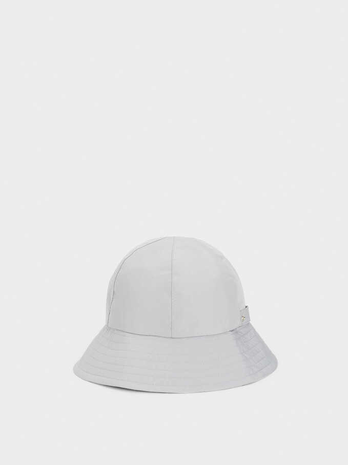 Waterproof Hat, Grey, hi-res