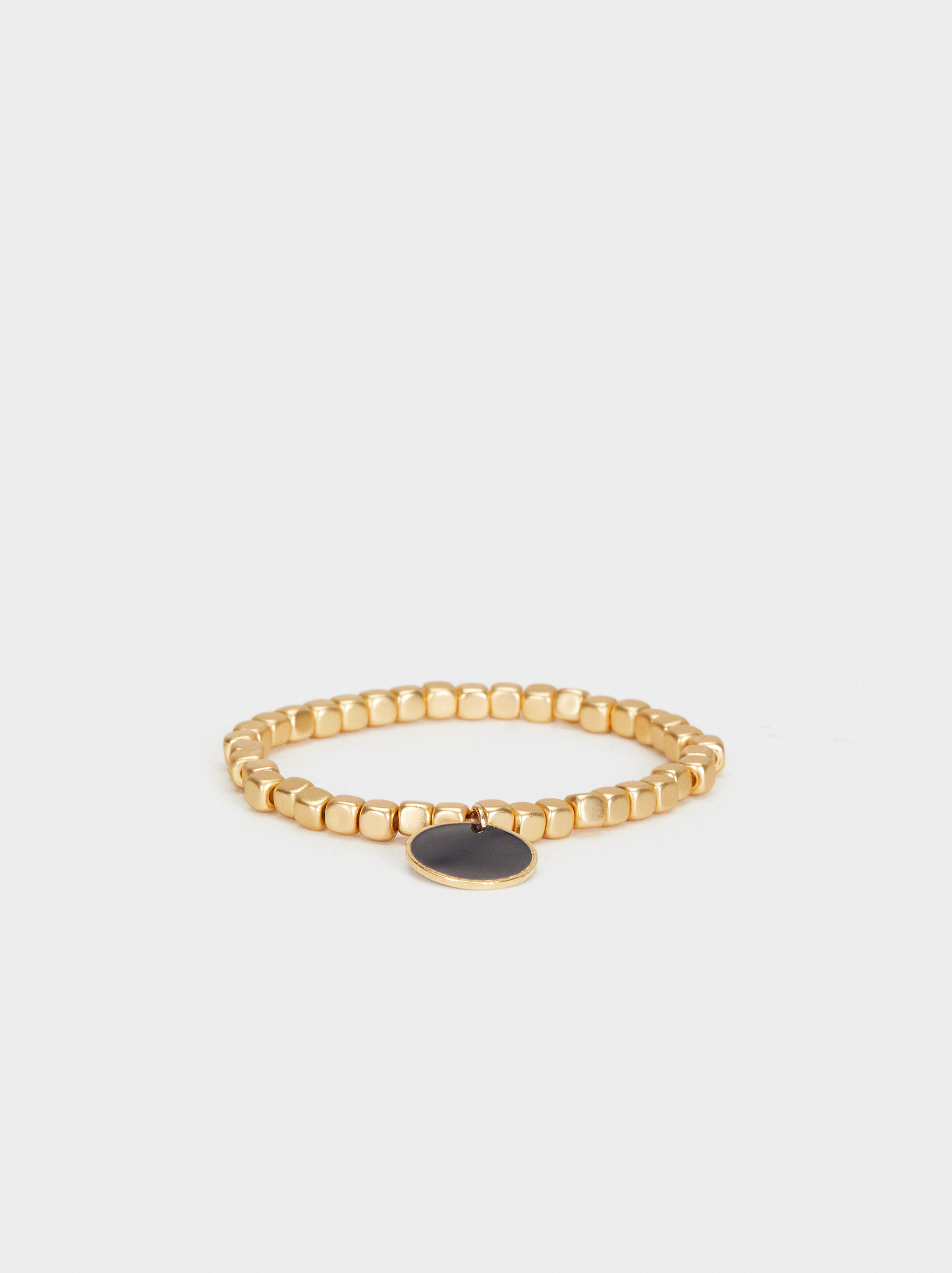 Bubbles Elastic Bracelet, Golden, hi-res