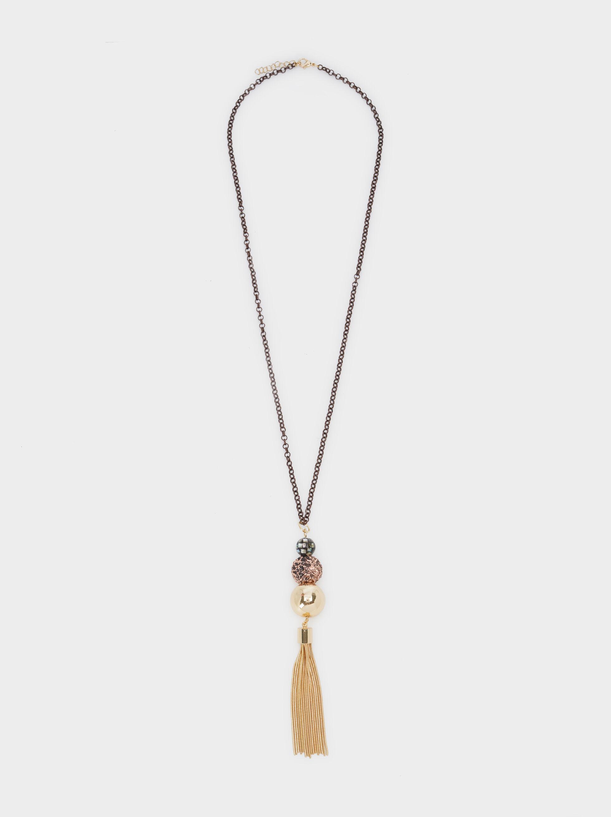 Blog Y-Necklace With Tassel, Multicolor, hi-res
