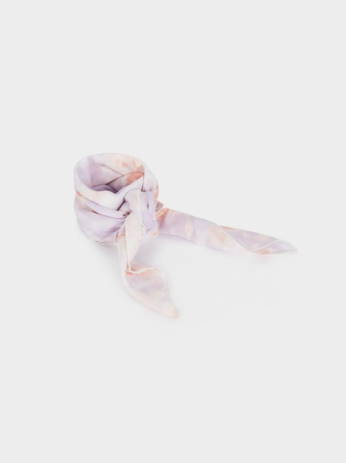 Tie-Dye Knot Headband, Multicolor, hi-res