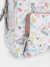 Mochila Estampado Love, Rosa, hi-res