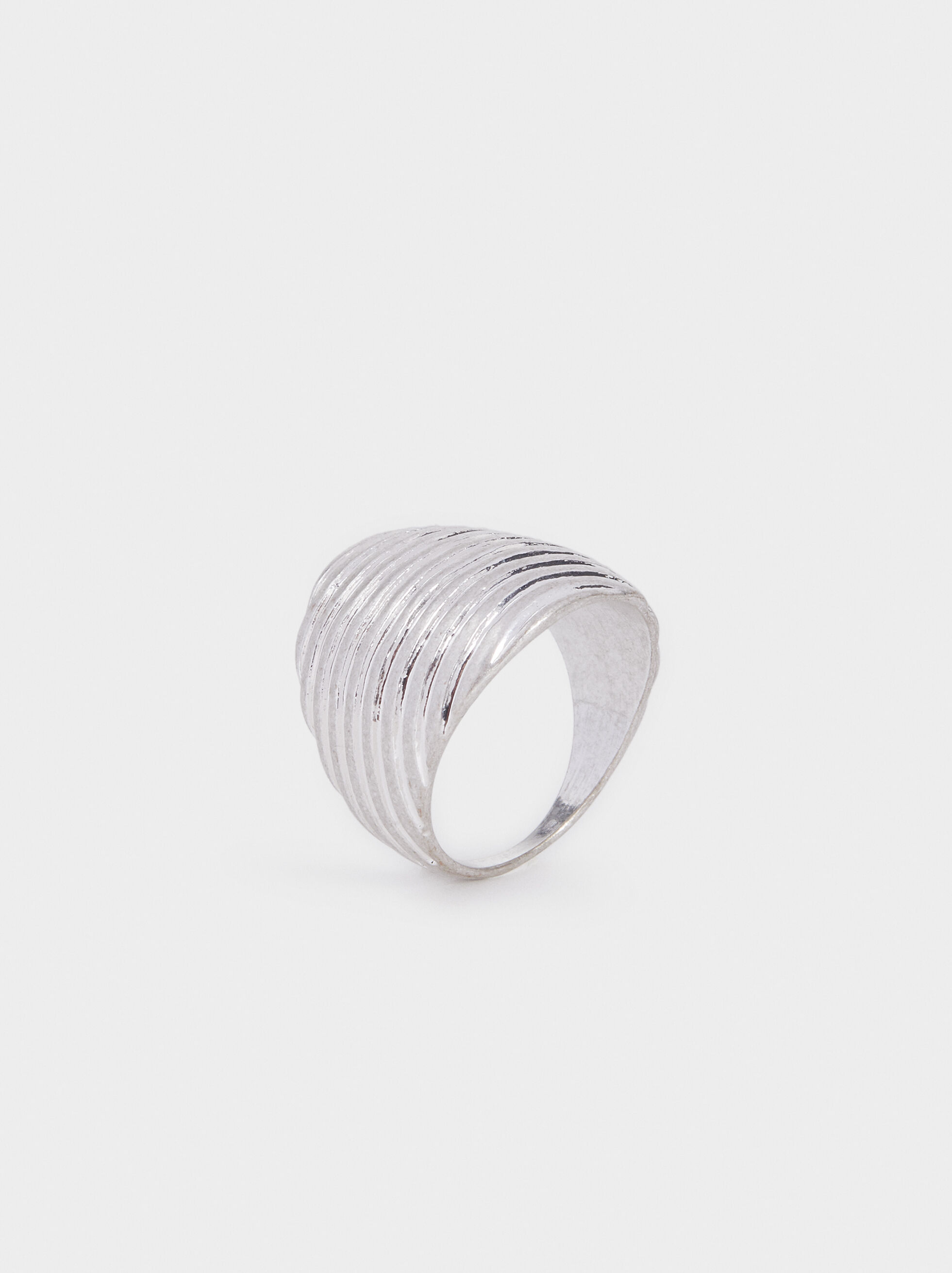 Blog Ring, Silver, hi-res