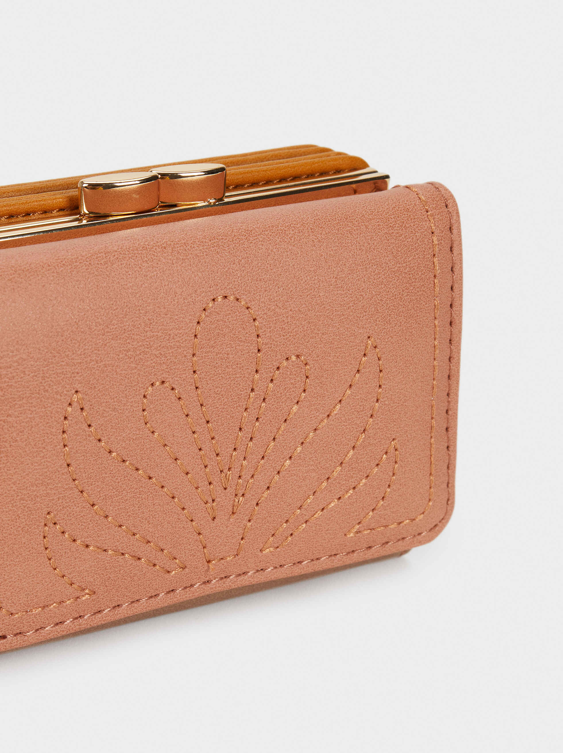 Lotus Wallet, Pink, hi-res