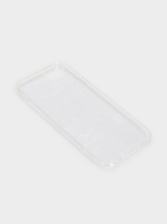 Marble-Effect Iphone 6/7/8 Case, Grey, hi-res