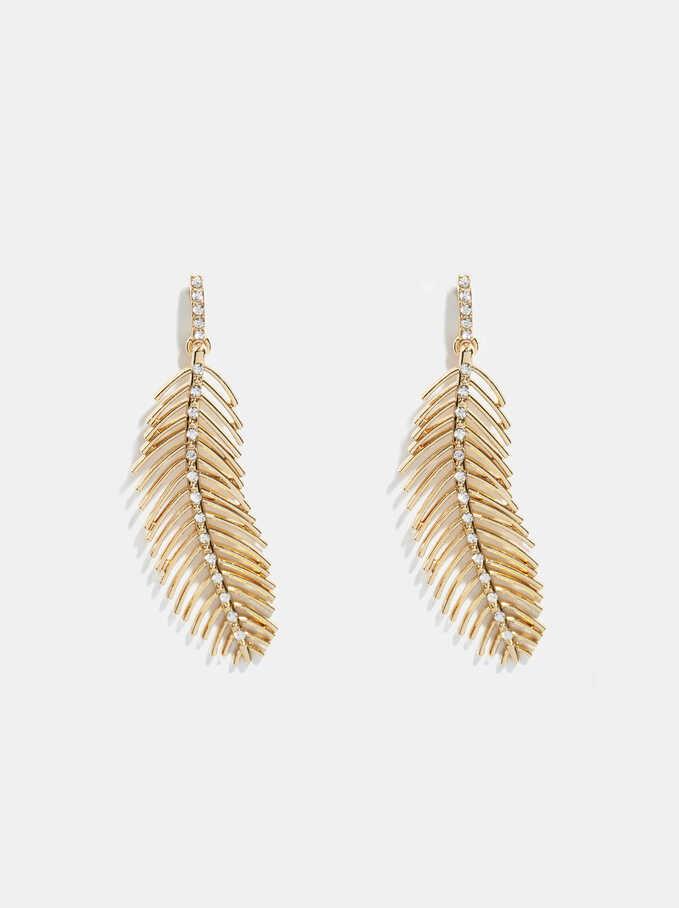 Golden Delicates Earrings, Golden, hi-res