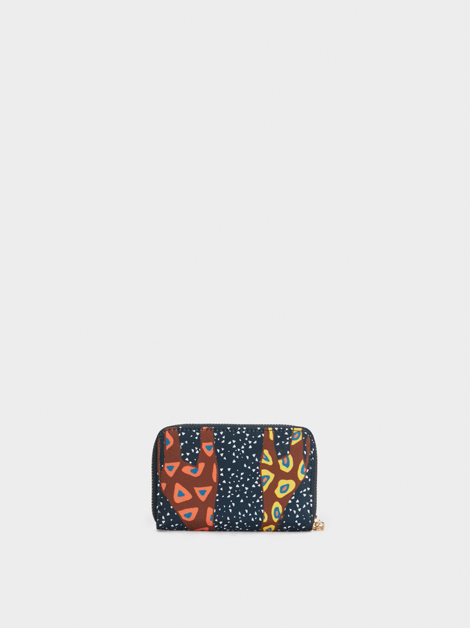 Basic Bamba Wallet, Navy, hi-res