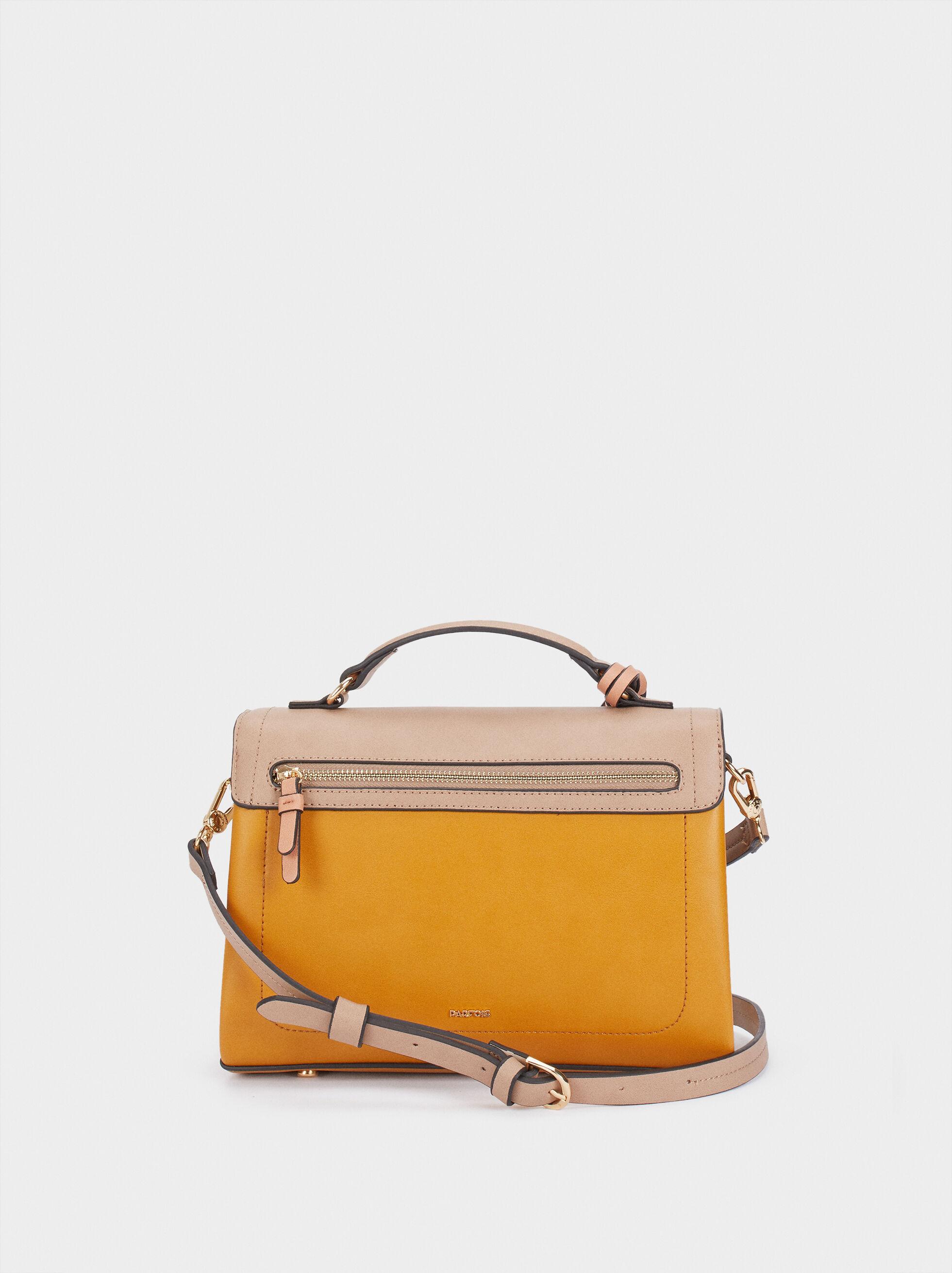 Lotus Tote Bag, Mustard, hi-res