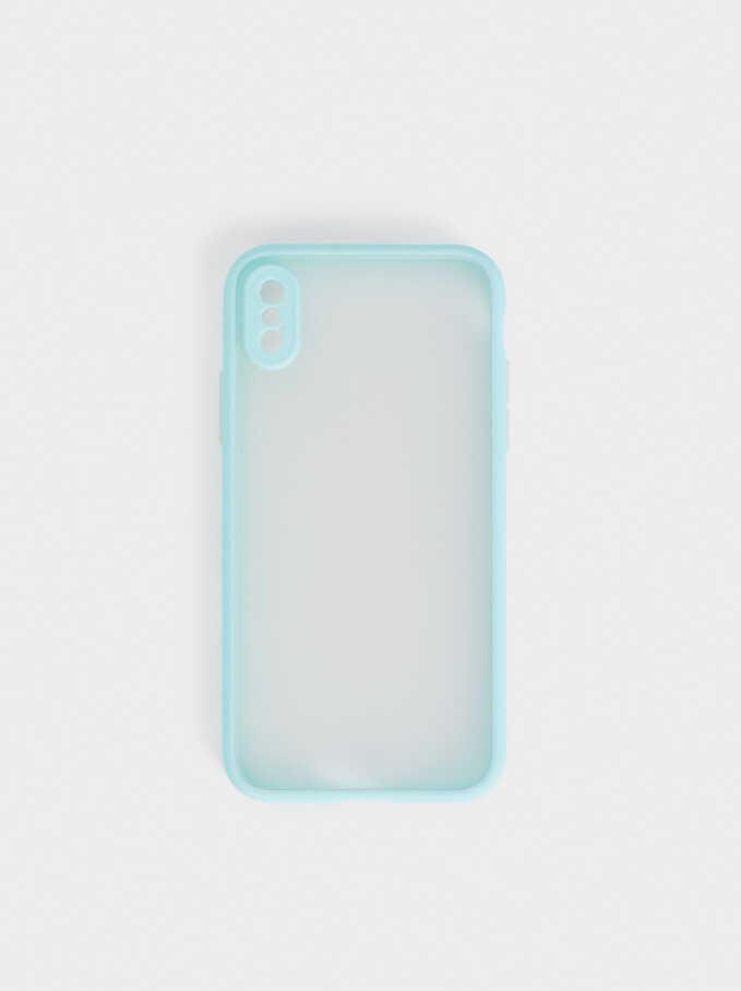 Housse Pour Téléphone Portable Iphone 12, Bleu, hi-res