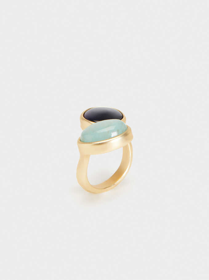 Cherry Blossom Ring With Stone Detail, Multicolor, hi-res