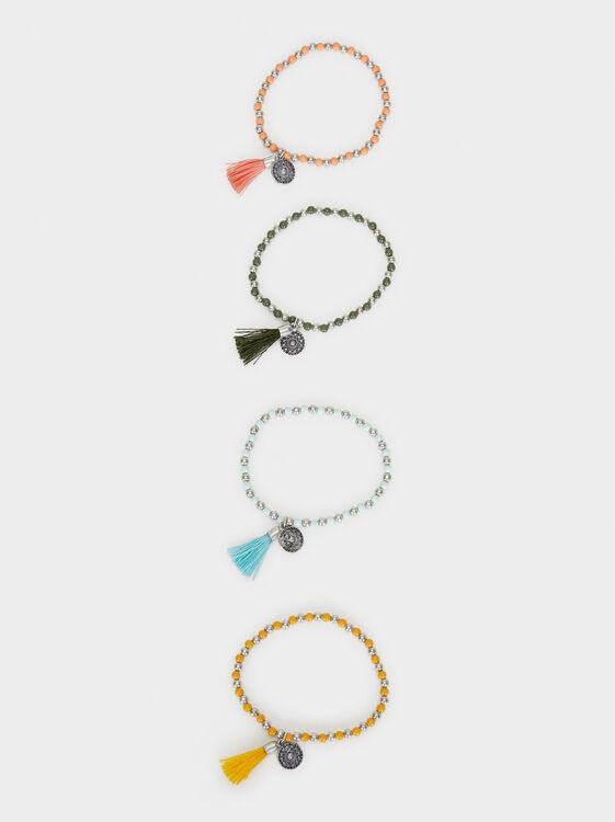 Star Valley Elastic Bracelet Set, Multicolor, hi-res