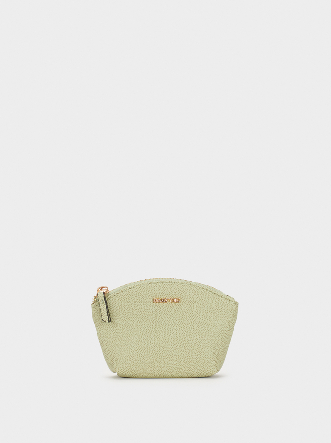 Small Plain Purse, Grey, hi-res