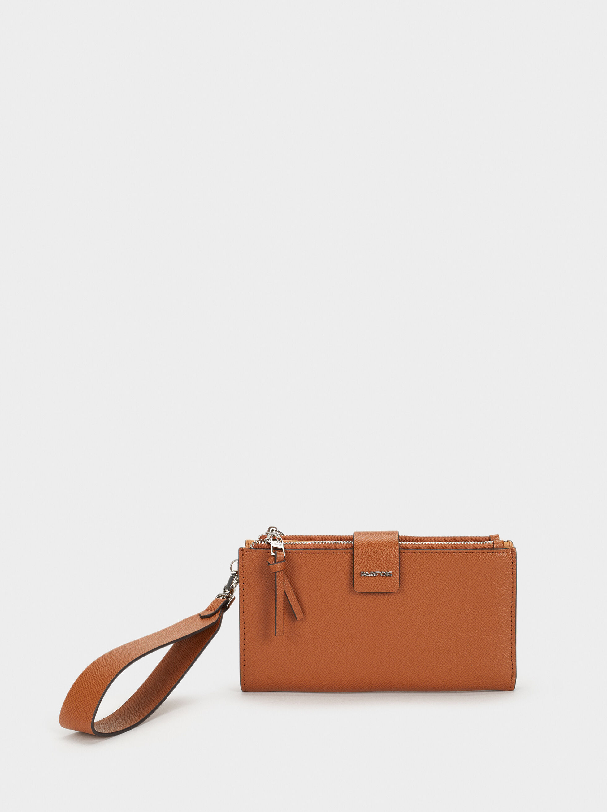 Large Purse With Handle, Camel, hi-res