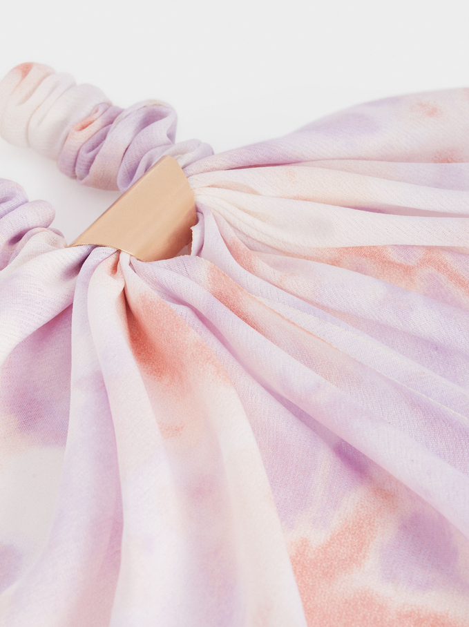 Coletero Tie-Dye Con Lazo, Multicor, hi-res