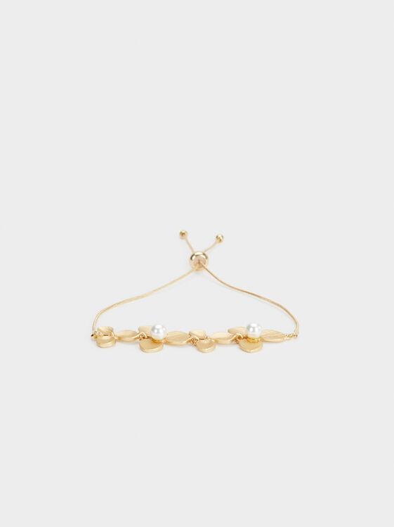 Adjustable Flower Bracelet, , hi-res