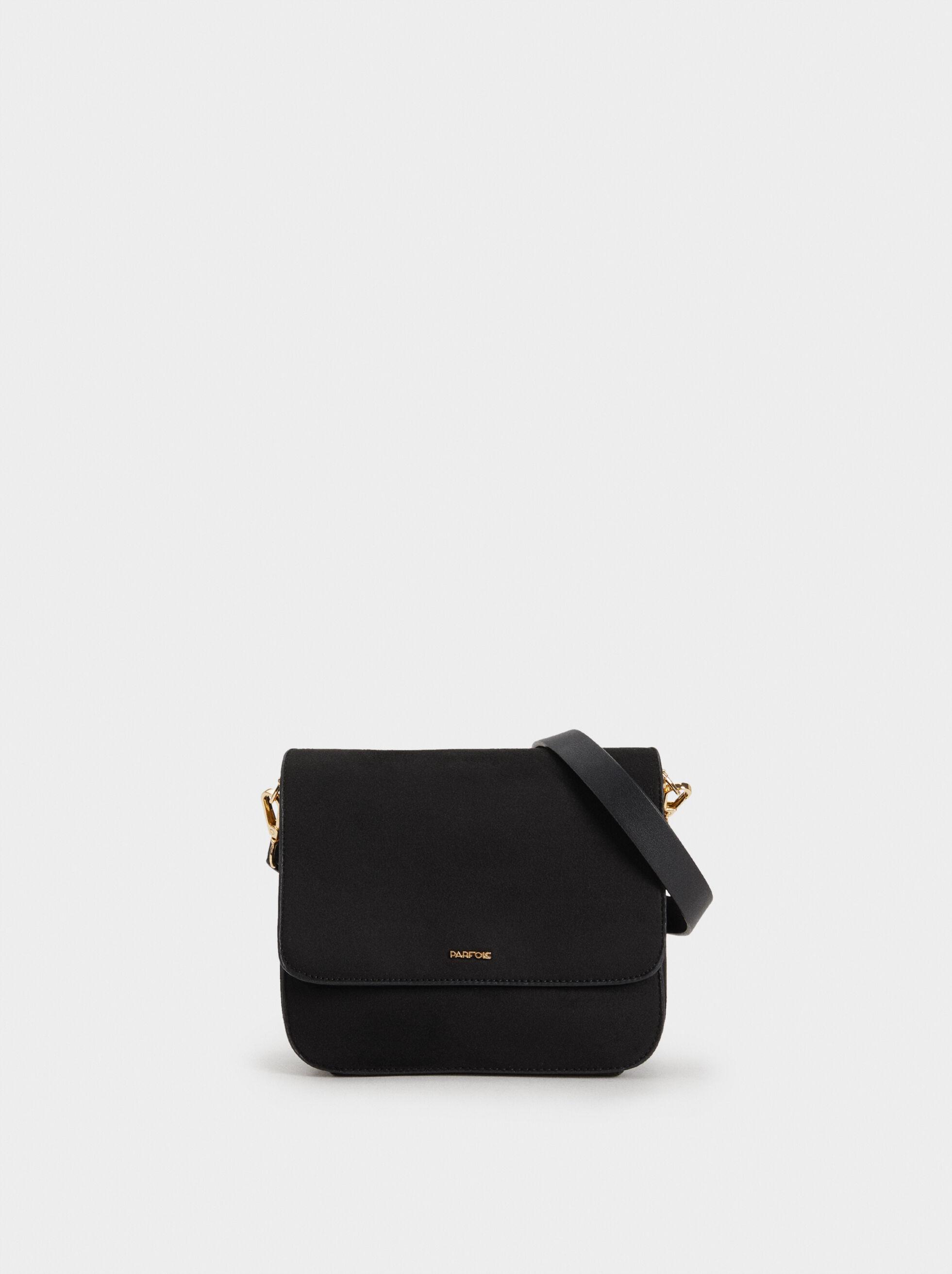 Suede Texture Crossbody Bag, , hi-res