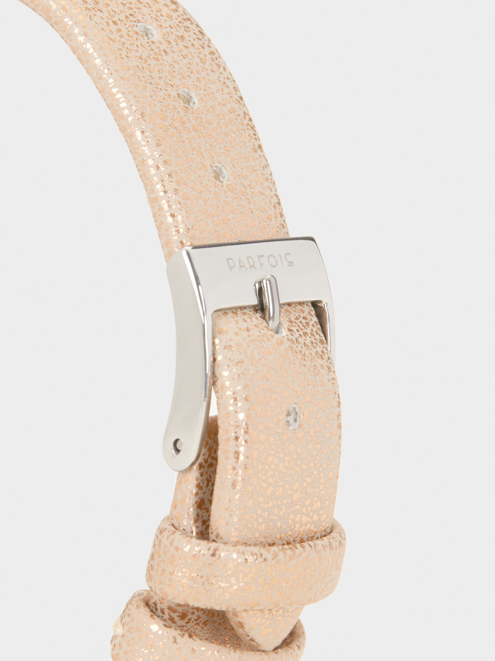 Watch With Metallic Mesh Wristband, Pink, hi-res