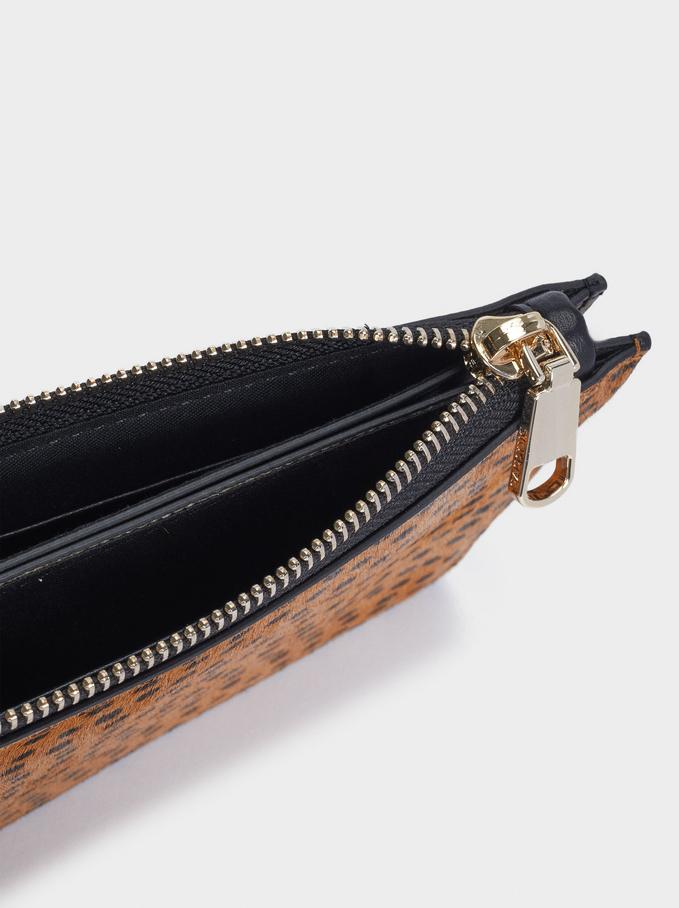 Leather Multipurpose Bag, Blue, hi-res