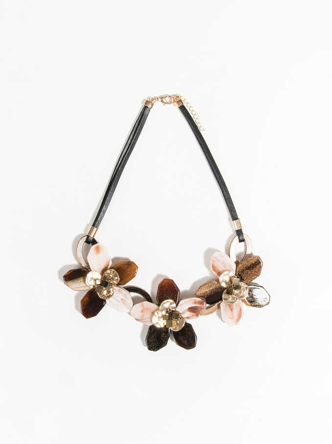 Exclusive Collection Short Necklace, Multicolor, hi-res