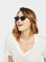 Cat-Eye Sunglasses, Multicolor, hi-res
