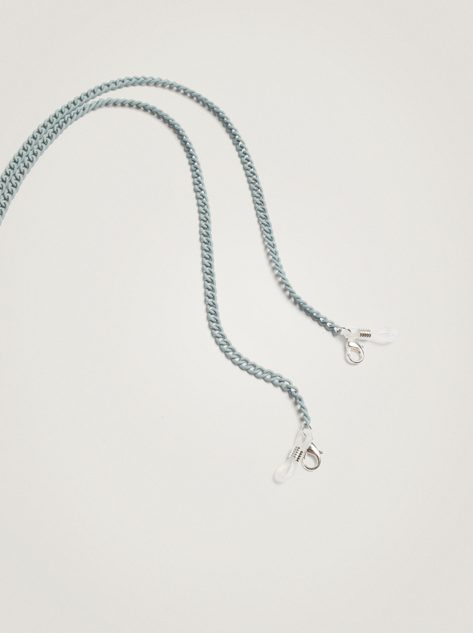 Chain For Sunglasses Or Mask, Grey, hi-res