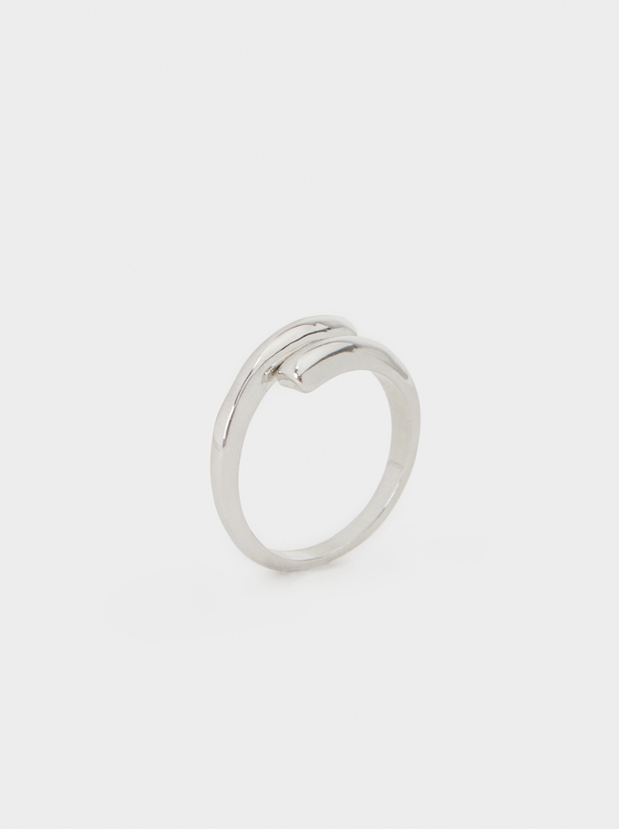 Basic Ring , Silver, hi-res