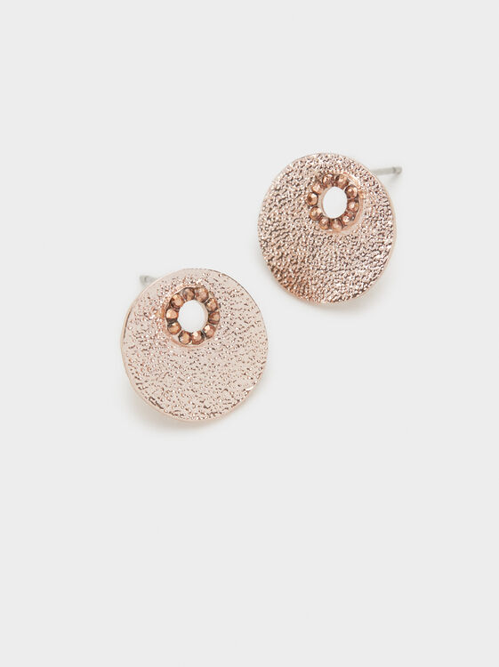 Pink Desert Studs, Orange, hi-res
