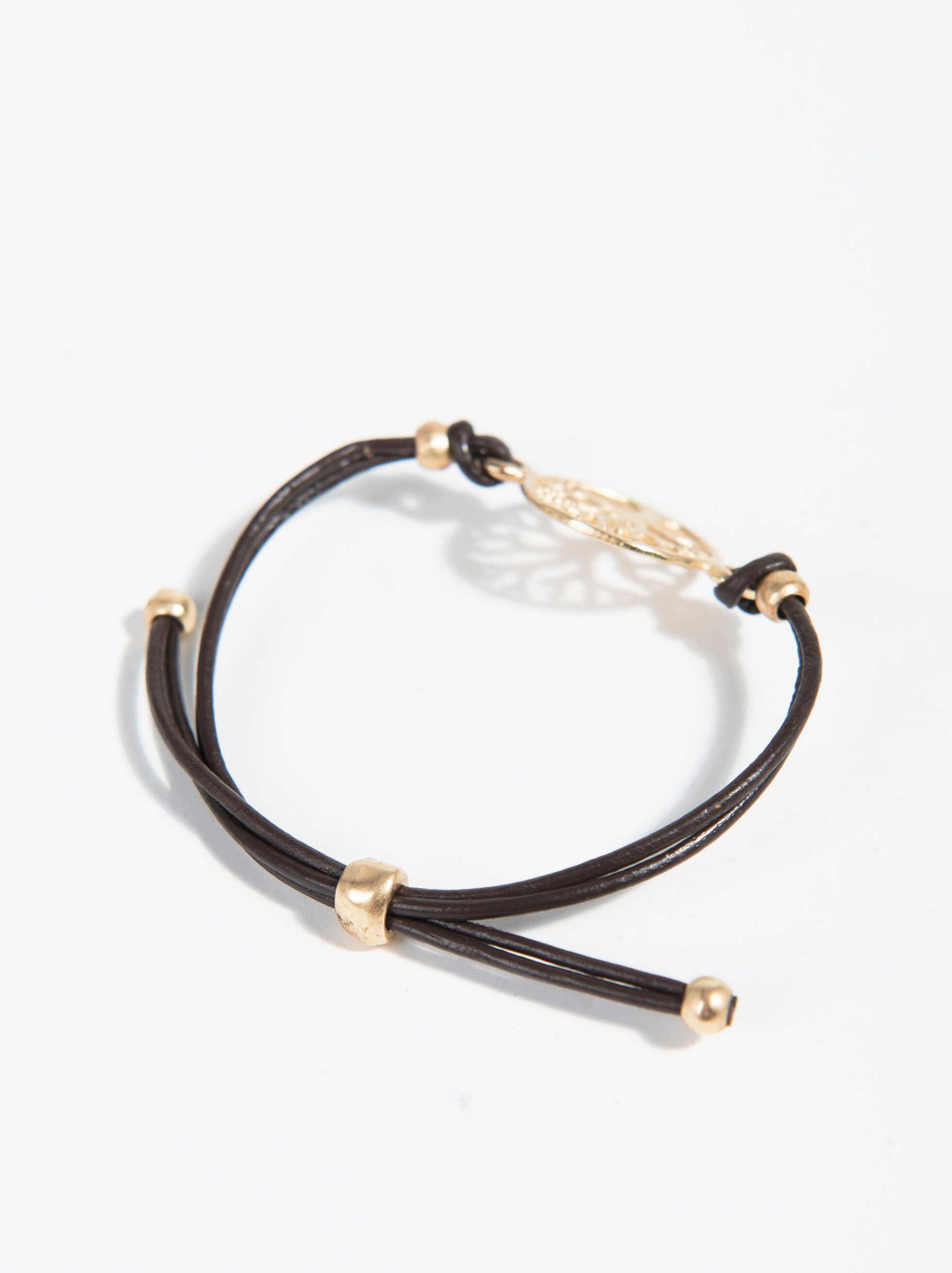 Basic Bracelet, Brown, hi-res