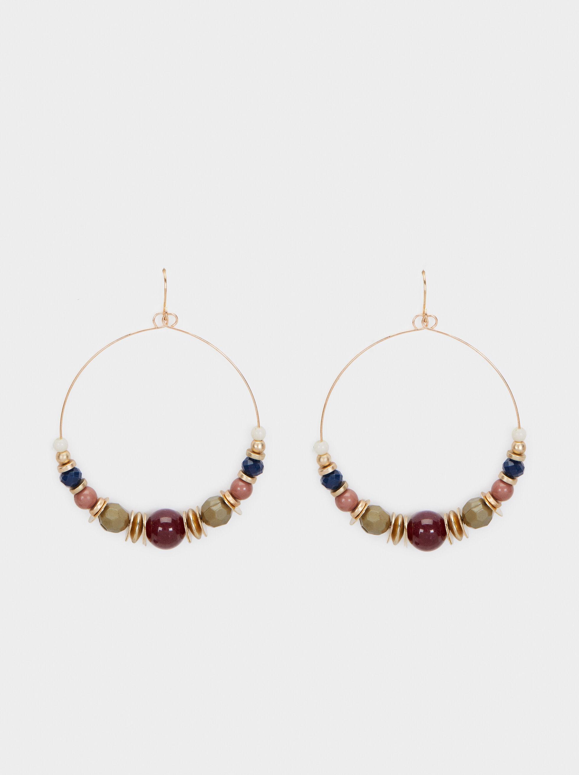 Bubbles Long Earrings, Multicolor, hi-res