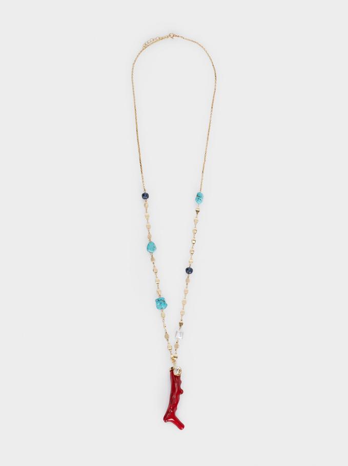 Recife Long Necklace, Multicolor, hi-res