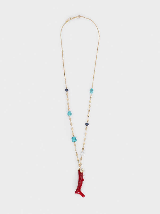 Recife Long Necklace, Multicolor, hi-res