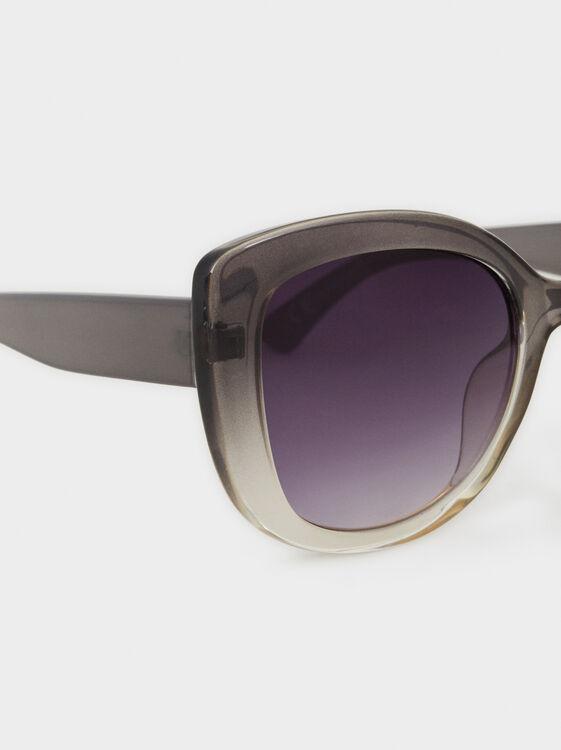 Resin Sunglasses, Grey, hi-res