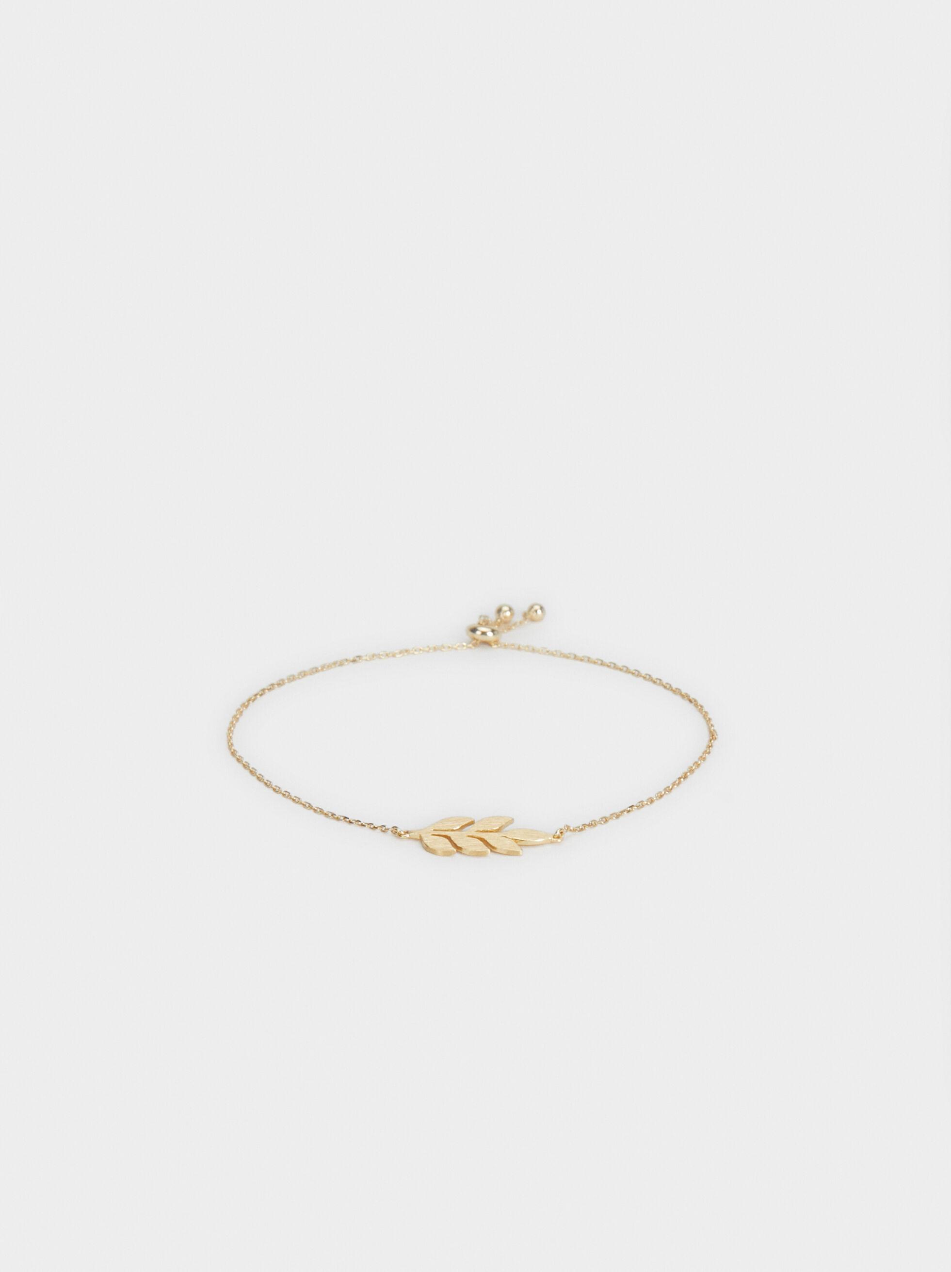 925 Silver Leaf Bracelet, , hi-res