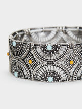 Star Valley Elastic Bracelet, Multicolor, hi-res