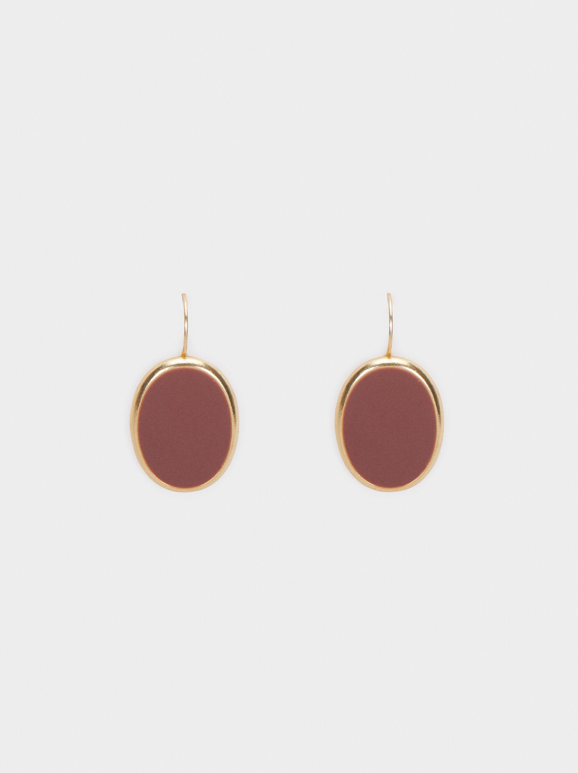 Bubbles Medium Earrings, Pink, hi-res