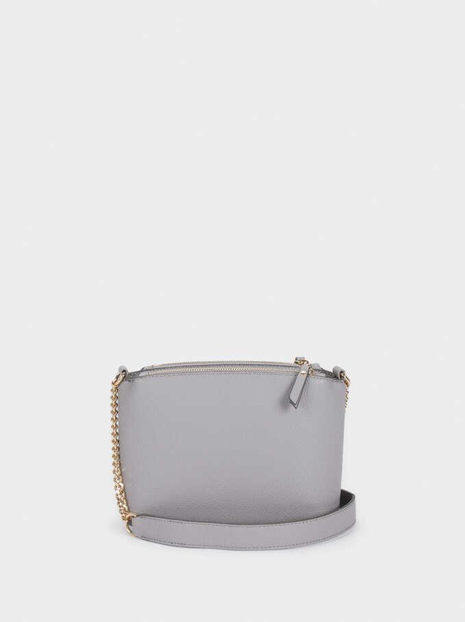 Crossbody Bag With Zip Fastening, Violet, hi-res